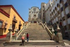 Universiteit van Guanajuato Royalty-vrije Stock Afbeeldingen