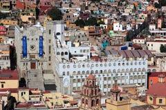 Universiteit van Guanajuato, Guanajuato, Mexico Stock Foto's