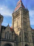 Universiteit van Manchester royalty-vrije stock afbeeldingen