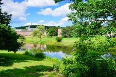 Universiteit van Massachusetts Amherst stock afbeeldingen