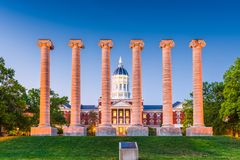 Universiteit van Missouri stock foto's
