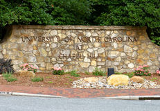 Universiteit van Noord-Carolina bij Kapelheuvel Royalty-vrije Stock Fotografie