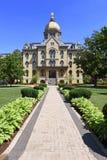 Universiteit van Notre Dame Campus Stock Foto's