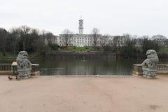 Universiteit van Nottingham royalty-vrije stock foto