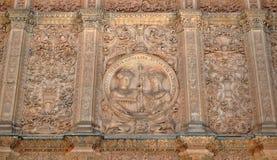 Universiteit van Salamanca Royalty-vrije Stock Afbeeldingen
