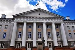 Universiteit van Tartu, Estland Royalty-vrije Stock Foto