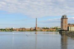 Universiteit van Vaasa Royalty-vrije Stock Foto's