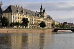 Universiteit van Wroclaw Royalty-vrije Stock Afbeeldingen