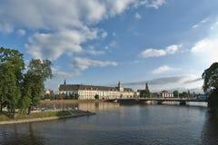 Universiteit van Wroclaw (Breslau) - Polen Royalty-vrije Stock Afbeeldingen
