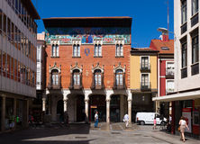 Universiteit Villandrando Palencia royalty-vrije stock fotografie