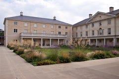 Universiteitsgronden, de universiteit van Cambridge Royalty-vrije Stock Afbeelding