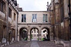 Universiteitsgronden, de universiteit van Cambridge Royalty-vrije Stock Foto