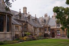 Universiteitsgronden, de universiteit van Cambridge Royalty-vrije Stock Fotografie