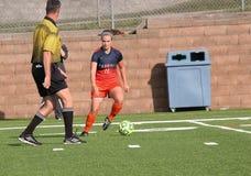 Universiteitsncaa afd. III Women's Voetbal Royalty-vrije Stock Afbeelding