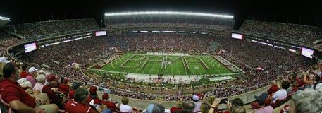 Universitet av Alabama miljon dollarmusikband Bama Spellout Royaltyfria Foton