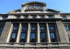 Universitet av Bucharest, Rumänien Arkivbild
