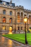 Universitet av Cambridge i Cambridge, England, UK Arkivfoton