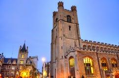 Universitet av Cambridge i Cambridge, England, UK Royaltyfria Bilder
