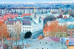 Universitet av den Ljubljana staten som bygger på kongressfyrkant arkivfoton