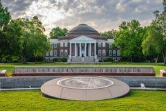 Universitet av den Louisville Belknap universitetsområdet Royaltyfria Foton