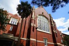 Universitet av Florida byggnad Arkivbild