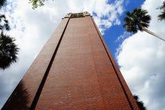Universitet av Florida byggnad Royaltyfria Foton