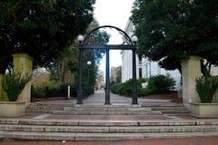 Universitet av Georgia Athens Arch royaltyfria bilder