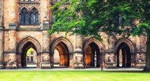 Universitet av Glasgow, Skottland Royaltyfri Bild
