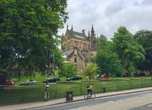 Universitet av Glasgow, Skottland, UK fotografering för bildbyråer