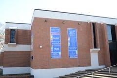 Universitet av Memphis Music Center, Memphis, TN Royaltyfri Bild