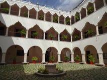 Universitet av Merida Courtyard Arkivbild