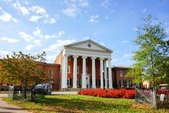 Universitet av Mississippi byggnad Fotografering för Bildbyråer