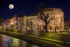 Universitet av Nis-byggnad Royaltyfri Fotografi