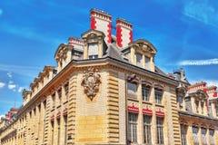 Universitet av Paris (Universite de Paris), metonymically bekant a arkivfoto