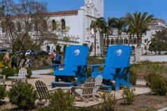 Universitet av San Diego Campus royaltyfri bild