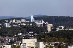 Universitet av Siegen, Tyskland Arkivbilder