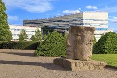 Universitet av Uppsala, Sverige Royaltyfri Fotografi