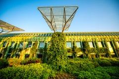 Universitet av Warszawaarkivet i Polen fotografering för bildbyråer