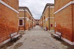 Universitet för Ca Foscari av Venedig (Universita Ca Foscari Venezia) Royaltyfri Bild