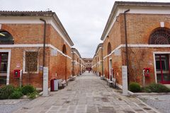 Universitet för Ca Foscari av Venedig (Universita Ca Foscari Venezia) Royaltyfria Bilder