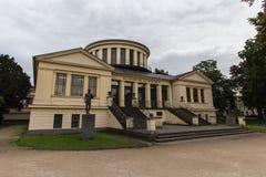 Universitet som bygger bonn Tyskland Arkivfoton