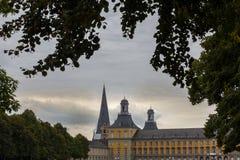 Universitet som bygger bonn Tyskland Royaltyfri Bild