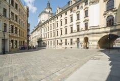 Universitet wroclaw Polen Europa Arkivbilder