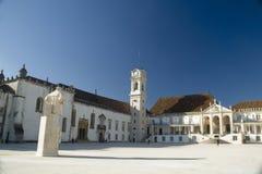 Universitetar av Coimbra, Portugal Arkivbilder