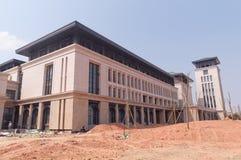 Universitetar av Macao den nya universitetsområdet Royaltyfri Bild