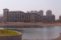 Universitetar av Macao den nya universitetsområdet Arkivbild
