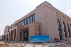 Universitetar av Macao den nya universitetsområdet Arkivfoton