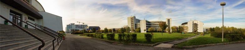 Universitetar av västra Bohemia Arkivbild