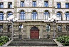 Universitetar av Zurich Fotografering för Bildbyråer