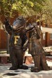 universitetar för alligatorflorida maskotar royaltyfria foton